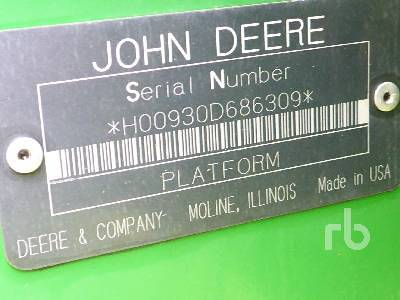 Detail photo of 2000 John Deere 930D from Construction Equipment Guide