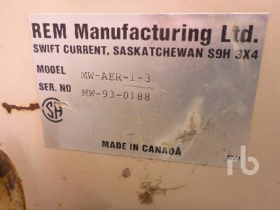 Detail photo of  REM MWAER13 from Construction Equipment Guide