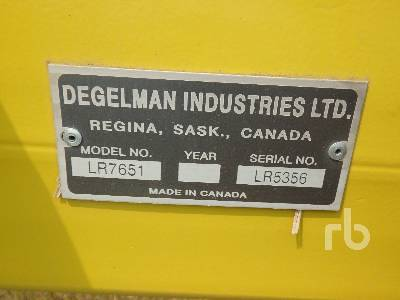 Detail photo of  Degelman LR7651 from Construction Equipment Guide