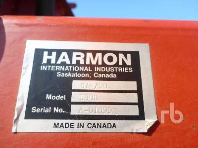 Detail photo of  HARMON ROCKOMATIC 5800 from Construction Equipment Guide