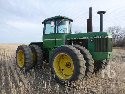 Detail photo of 1982 John Deere 8440 from Construction Equipment Guide