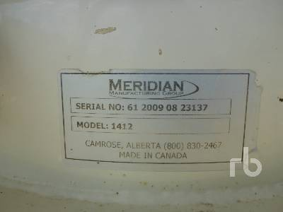 Detail photo of 2009 MERIDIAN 1412 from Construction Equipment Guide