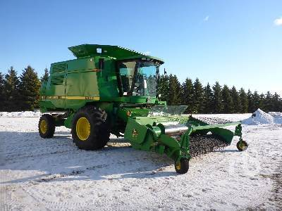 Detail photo of 1994 John Deere 9600 from Construction Equipment Guide