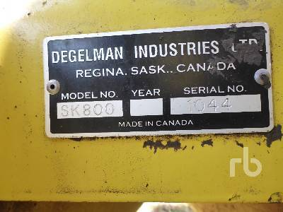 Detail photo of  Degelman SHUTTLEKART 800 from Construction Equipment Guide
