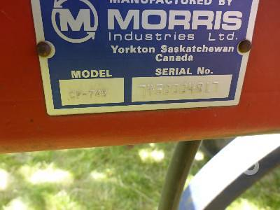 Detail photo of 1985 MORRIS MAGNUM II from Construction Equipment Guide