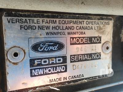 Detail photo of 1991 Ford 946 from Construction Equipment Guide