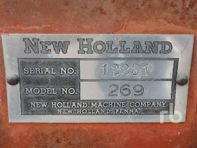 Detail photo of  New Holland 269 from Construction Equipment Guide