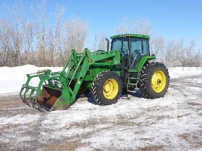Detail photo of 1993 John Deere 7700 from Construction Equipment Guide