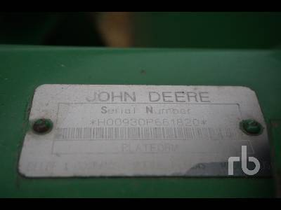 Detail photo of 1995 John Deere 930 from Construction Equipment Guide