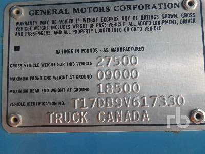 Detail photo of 1979 GMC 7000 from Construction Equipment Guide