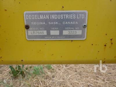 Detail photo of 2005 Degelman LR7645 from Construction Equipment Guide