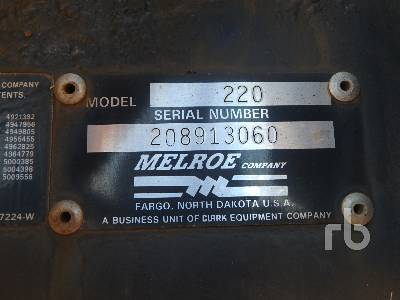 Detail photo of  MELROE SPRA-COUPE 220 from Construction Equipment Guide