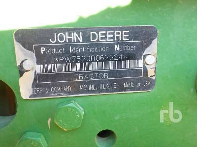 Detail photo of 2007 John Deere 7520 from Construction Equipment Guide