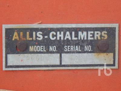 Detail photo of  Allis Chalmers 2500D from Construction Equipment Guide