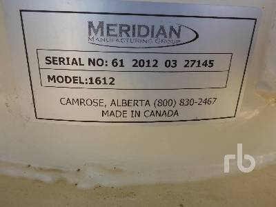 Detail photo of  MERIDIAN 1612 from Construction Equipment Guide