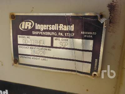 Detail photo of 2005 Ingersoll Rand DD118HFA from Construction Equipment Guide