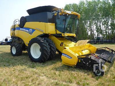 Detail photo of 2014 New Holland CX8080 from Construction Equipment Guide