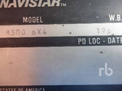 Detail photo of 1990 International 8300 from Construction Equipment Guide