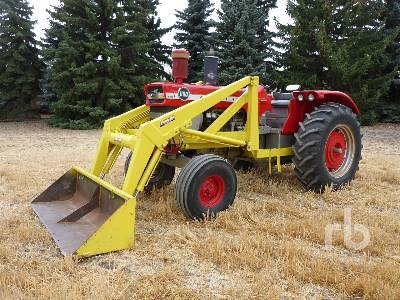 Detail photo of 1966 Massey Ferguson 1100 from Construction Equipment Guide