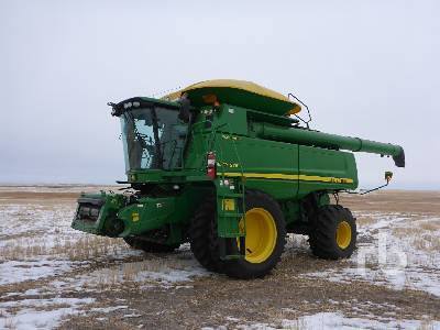 Detail photo of 2011 John Deere 9870STS from Construction Equipment Guide