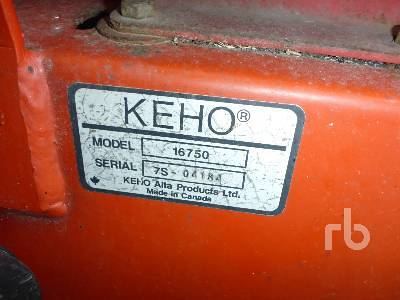 Detail photo of  KEHO 16750 from Construction Equipment Guide